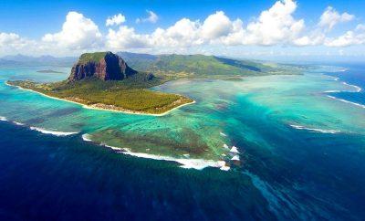 Underwater Waterfalls in Mauritius