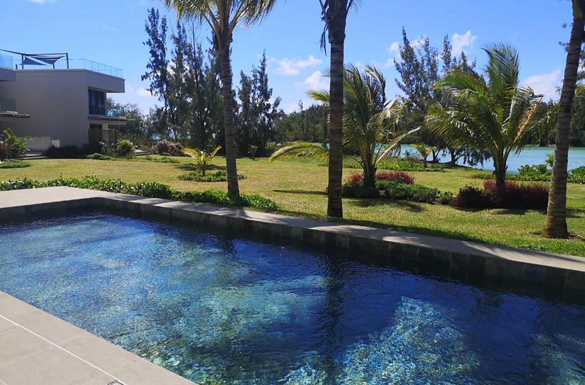 Barachois 8 yksityinen huvila ranta 2 uima -altaalla Mauritiuksella vuokrattavana