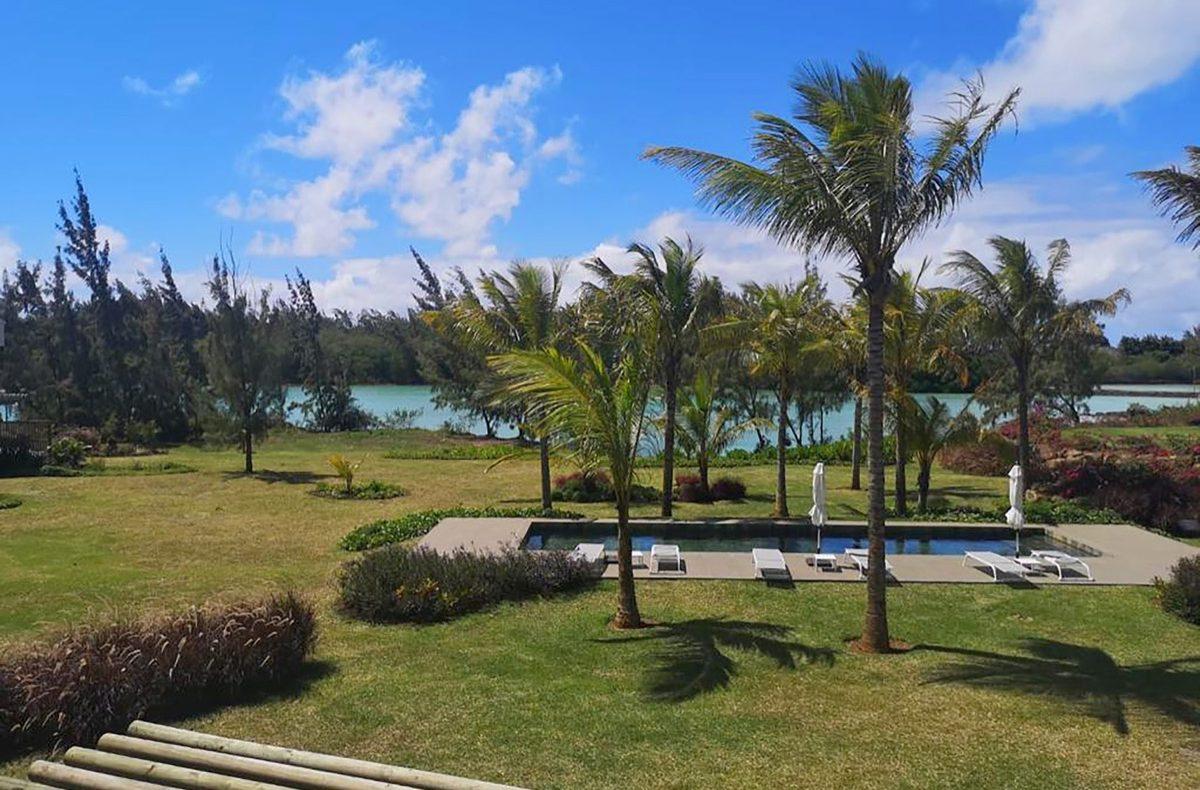 Barachois 8 privat villa vid vattnet med 2 pooler i Mauritius att hyra